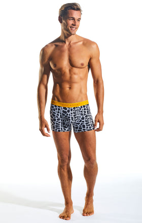 Cocksox CX12WD Underwear Boxer in Giraffe full body image
