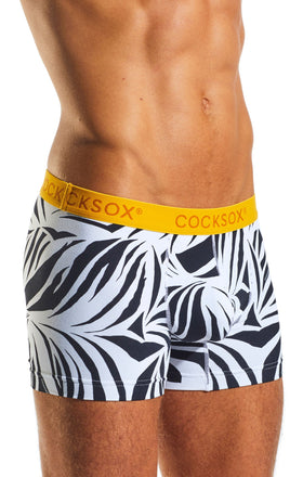 Cocksox CX12WD Underwear Boxer in Zebra side body image