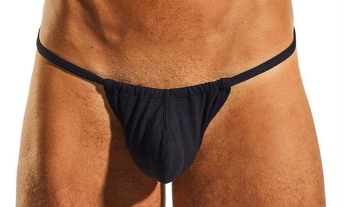 Cocksox CX14 Underwear Slingshot in Jet Black hero image