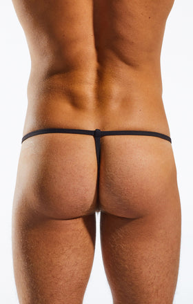 Cocksox CX14DD Underwear Slingshot in Calavera back body image