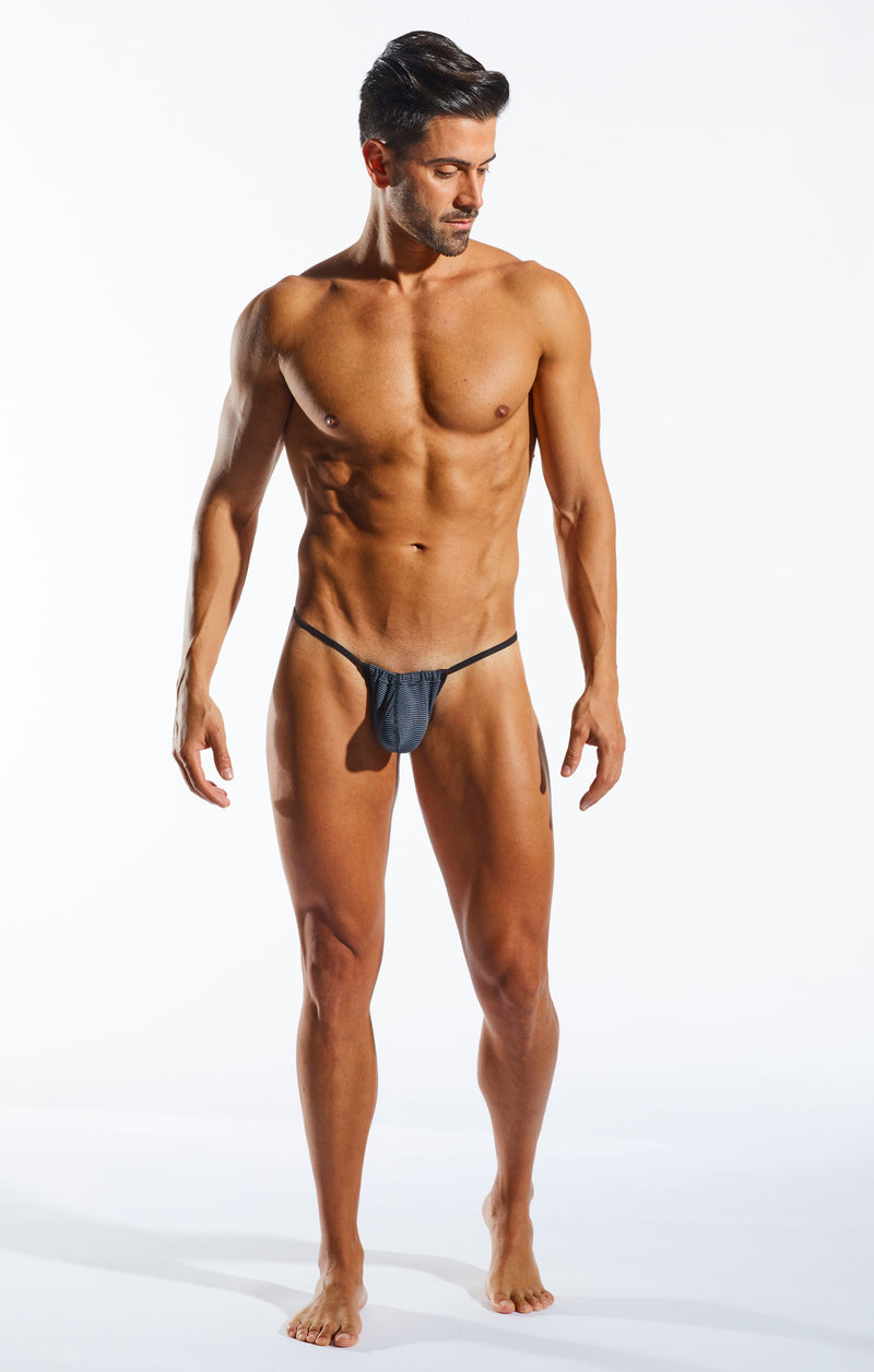Cocksox CX14PRO Underwear Slingshot in Banker full body image