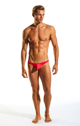 Cocksox CX22 Swimwear Thong in Watermelon full body image