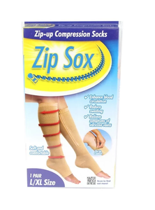 Zipper Leg Compression Socks