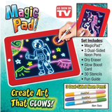 Fluorescent luminous Kid's Magic board