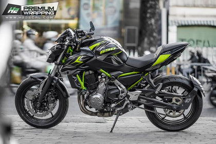 Kawasaki Z650 Stickers Kit