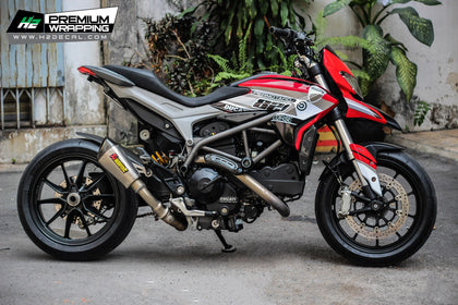 Ducati Hypermotard sticker kit, vinyl, decal