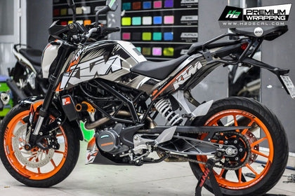 KTM Duke 200 Sticker Kits