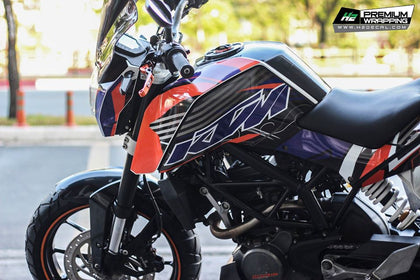 KTM Duke 125 Sticker Kits