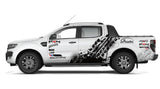 Ford Ranger Vinyl Graphic Decals Kit - 001 - H2 Stickers - Worldwide