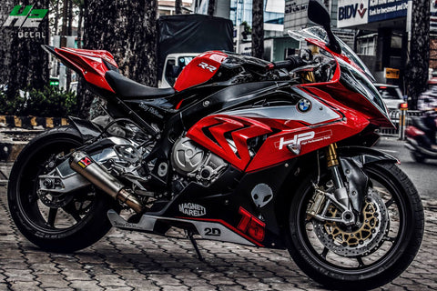 BMW S1000RR Stickers Kit - 052 - H2 Stickers - Worldwide