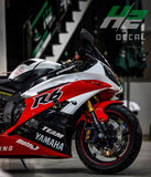 YAMAHA YZF-R6 Stickers Kit - 002 - H2 Stickers - Worldwide