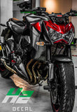 Kawasaki Z800 Stickers Kit - 008 - H2 Stickers - Worldwide
