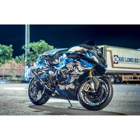 BMW S1000RR Stickers Kit - 012 - H2 Stickers - Worldwide