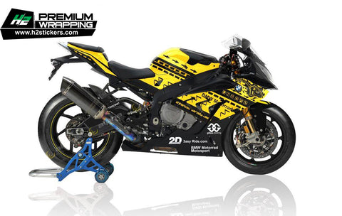 BMW S1000RR Stickers Kit - 041 - H2 Stickers - Worldwide