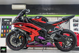 YAMAHA YZF-R6 Stickers Kit - 006 - H2 Stickers - Worldwide