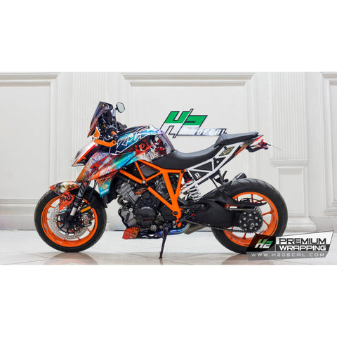 KTM 1290 Super Duke R Stickers Kit - 001 - H2 Stickers - Worldwide