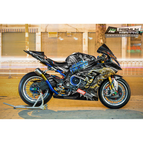 BMW S1000RR Stickers Kit - 008 - H2 Stickers - Worldwide