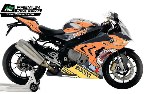BMW S1000RR Stickers Kit - 042 - H2 Stickers - Worldwide