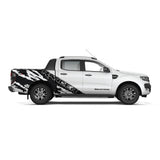 Ford Ranger Vinyl Graphic Decals Kit - 003 - H2 Stickers - Worldwide