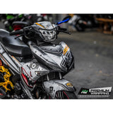 Yamaha Exciter 150 (Y15ZR) Stickers Kit - 127 - H2 Stickers - Worldwide