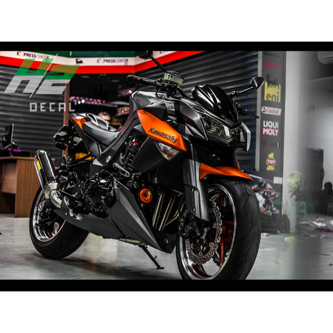 Kawasaki Z1000 Stickers Kit - 015 - H2 Stickers - Worldwide