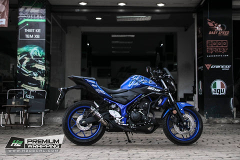 YAMAHA MT-03 Stickers Kit - 001 - H2 Stickers - Worldwide