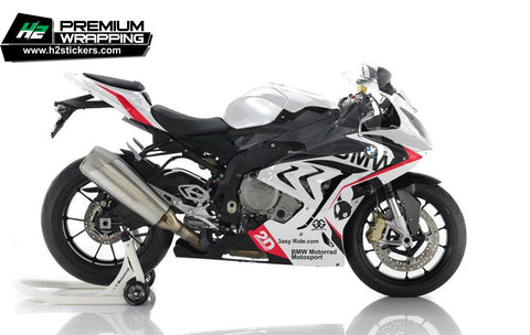 BMW S1000RR Stickers Kit - 044 - H2 Stickers - Worldwide