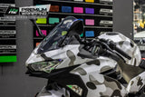 Kawasaki Ninja 400 Stickers Kit - 002 - H2 Stickers - Worldwide