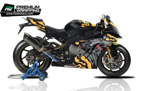 BMW S1000RR Stickers Kit - 046 - H2 Stickers - Worldwide