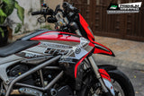 Ducati Hypermotard Stickers Kit - 001 - H2 Stickers - Worldwide
