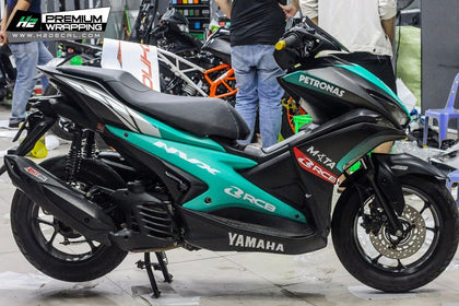 Yamaha Aerox Stickers Kit - 082 - H2 Stickers - Worldwide