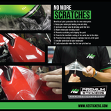 Honda CBR 1000RR Paint Protection Kit - H2 Stickers - Worldwide