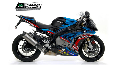 BMW S1000RR Stickers Kit - 058 - H2 Stickers - Worldwide