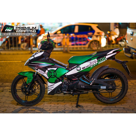 Yamaha Exciter 150 (Y15ZR) Stickers Kit - 113 - H2 Stickers - Worldwide