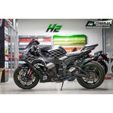Kawasaki Ninja ZX10R Stickers Kit - 016 - H2 Stickers - Worldwide
