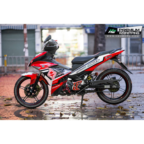 Yamaha Exciter 150 (Y15ZR) Stickers Kit - 118 - H2 Stickers - Worldwide