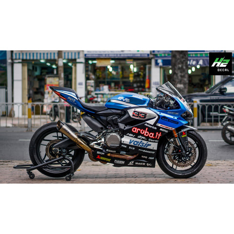 Ducati Panigale Stickers Kit - 014 - H2 Stickers - Worldwide