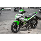 Yamaha Exciter 150 (Y15ZR) Stickers Kit - 122 - H2 Stickers - Worldwide