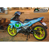 Yamaha Exciter 150 (Y15ZR) Stickers Kit - 124 - H2 Stickers - Worldwide