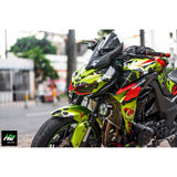 Kawasaki Z1000 Stickers Kit - 032 - H2 Stickers - Worldwide