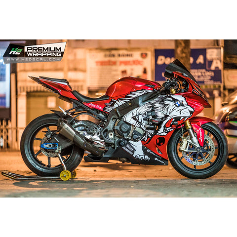 BMW S1000RR Stickers Kit - 029 - H2 Stickers - Worldwide