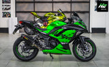 Kawasaki Ninja 300 Stickers Kit - 004 - H2 Stickers - Worldwide