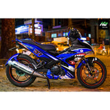 Yamaha Exciter 150 (Y15ZR) Stickers Kit - 099 - H2 Stickers - Worldwide