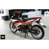 Yamaha Exciter 150 (Y15ZR) Stickers Kit - 097 - H2 Stickers - Worldwide
