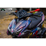 Yamaha Aerox Stickers Kit - 067 - H2 Stickers - Worldwide