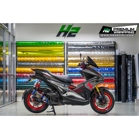 Yamaha Aerox Stickers Kit - 074 - H2 Stickers - Worldwide