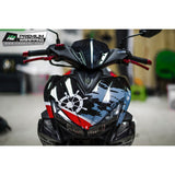 Yamaha Aerox Stickers Kit - 061 - H2 Stickers - Worldwide