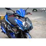 Yamaha Aerox Stickers Kit - 063 - H2 Stickers - Worldwide