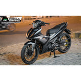 Yamaha Exciter 150 (Y15ZR) Stickers Kit - 103 - H2 Stickers - Worldwide