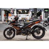 Yamaha Exciter 150 (Y15ZR) Stickers Kit - 110 - H2 Stickers - Worldwide
